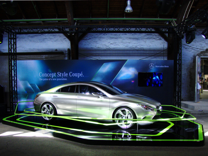 Mercedes Benz Show Car